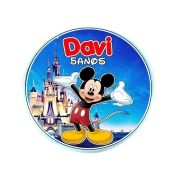 Lembrancinha Potinho Plástico Personalizado Mickey