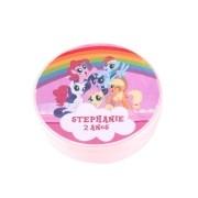 Lembrancinha Potinho Plástico Personalizado My Little Pony