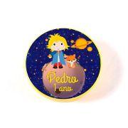 Lembrancinha Potinho Plástico Personalizado O Pequeno Príncipe