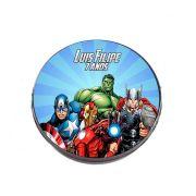 Lembrancinha Potinho Plástico Personalizado Os Vingadores