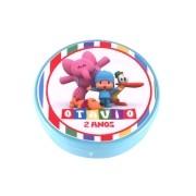 Lembrancinha Potinho Plástico Personalizado Pocoyo