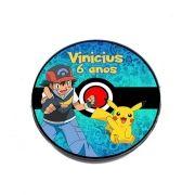 Lembrancinha Potinho Plástico Personalizado Pokemon