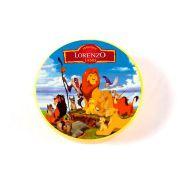 Lembrancinha Potinho Plástico Personalizado Rei Leão