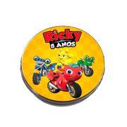 Lembrancinha Potinho Plástico Personalizado Ricky Zoom