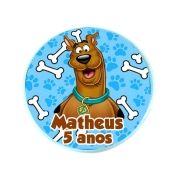 Lembrancinha Potinho Plástico Personalizado Scooby Doo