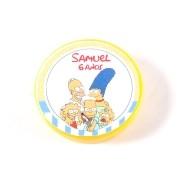 Lembrancinha Potinho Plástico Personalizado Simpsons