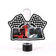 Lembrancinha Tubete 3D Formula 1 Ferrari vs Mercedes