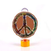 Lembrancinha Tubete 3D Hippie Paz e Amor