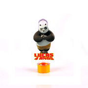 Lembrancinha Tubete 3D Nome e Idade Kung Fu Panda