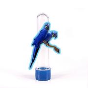 Tubete 3D Arara-Azul para Lembrancinha