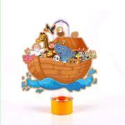Tubete 3D Arca de Noé Dilúvio para Lembrancinha