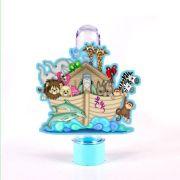 Tubete 3D Arca de Noé Infantil para Lembrancinha