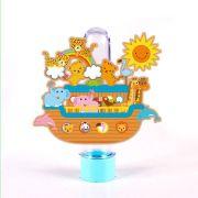 Tubete 3D Arca de Noé Sol para Lembrancinha