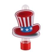 Lembrancinha Tubete Personagem Cartola Americana Tio Sam