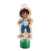 Lembrancinha Tubete Personagem Diego do Desenho Go Diego Go