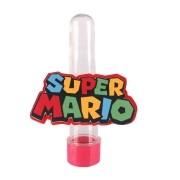 Lembrancinha Tubete Personagem Logo do Super Mário