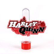 Lembrancinha Tubete Persongem Arlequina Harley Quinn