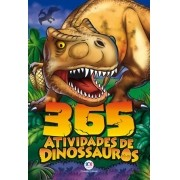 Livro 365 atividades de dinossauros - Ciranda Cultural - Ciranda Cultural