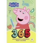 Livro 365 Atividades E Desenhos Para Colorir Peppa Pig - Ciranda Cultural