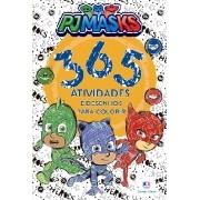 Livro 365 Atividades  e Desenhos para Colorir PJ Masks - Ciranda Cultural