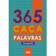 Livro 365 Caça Palavras Geografia Ciranda Cultural - Ciranda Cultural