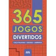 Livro 365 Jogos Divertidos Caça Palavras Sudokus Labirintos - Ciranda Cultural