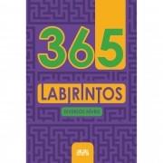 Livro 365 Labirintos Diversos Níveis 288 Páginas Raciocínio - Ciranda Cultural