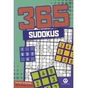 Livro 365 Sudokus Diversos Níveis Raciocínio Treine sua Memória - Ciranda Cultural