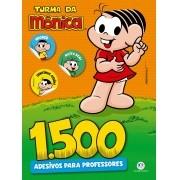 Livro de Adesivos Turma Da Mônica Para Professores E Pais 1500 unidades