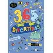 Livro Infantil 365 Atividades Divertidas Labirintos Colorir - Ciranda Cultural