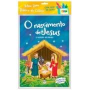 Livro Meu livro bíblico para colorir - O nascimento de Jesus - Ciranda Cultural