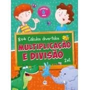 Livro Multiplicação E Divisão - Ciranda Cultural