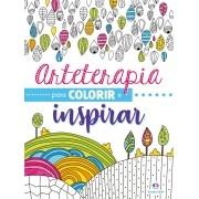 Livro para Colorir Arteterapia Colorir e Inspirar Estimular Imaginação - Ciranda Cultural
