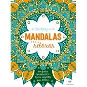 Livro Para Colorir Mandalas Para Relaxar 48 Páginas - Ciranda Cultural