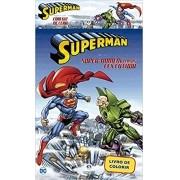 Livro Super Homem com Giz de Cera para Pintura - Ciranda Cultural