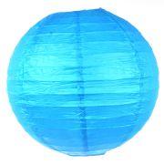 Luminária de Papel Azul