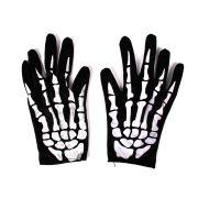 Luva Mão de Esqueleto - Tecido