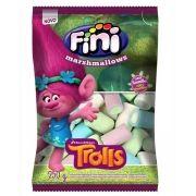 Marshmallow Fini Trolls de Baunilha 250g