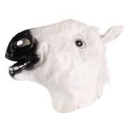 Máscara Cabeça de Cavalo Branca