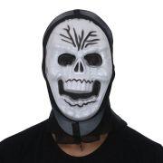 Máscara Caveira para Fantasia - Unidade