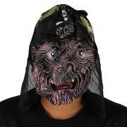 Máscara de Bruxa Halloween Cores Sortidas