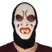 Máscara de Halloween Vampiro com Olhos Vermelhos