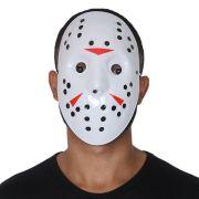 Máscara Jason com Detalhes Coloridos