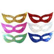 Mascaras Holográficas Em Papel Kit C/ 10