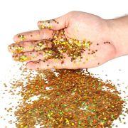 Mini Confete Dourado 15g