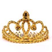 Mini Coroa de Princesa Dourada