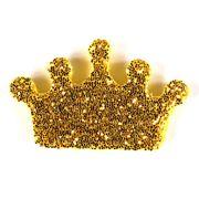 Mini Coroa Glitter 10Un