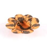 Mini Forminha Flor para Doces Safari Onça - 50 unidades