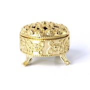 Mini Porta-Joias Dourado