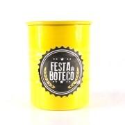 Mini Tonel Amarelo Festa do Boteco